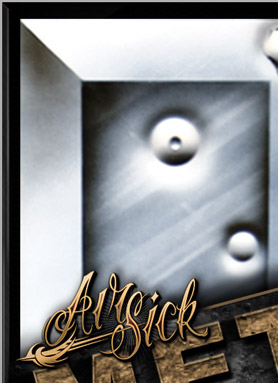 Airsick How To Airbrush Metal